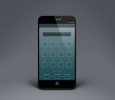 手机模版广告素材图片