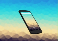 手机设计模板素材图片