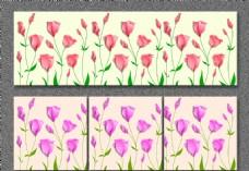 无框画玫瑰花