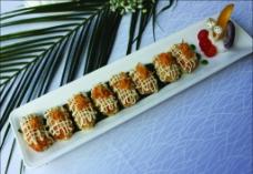 肉松土司三文鱼图片
