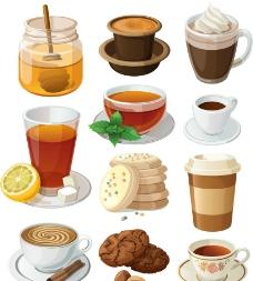 卡通饮品设计矢量素材图片