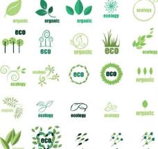 绿叶图标图片