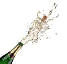 香槟庆祝图片