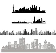 城市剪影图片