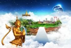 曼谷寺庙图片