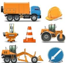 道路施工图标图片