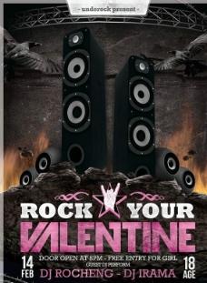 摇滚演唱会海报图片