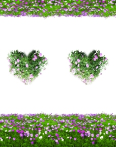 拉门图片心形花瓣移门图片