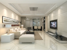 客厅电视沙发背景墙
