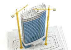 3d建筑模型設計圖片