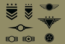 軍隊標志圖片