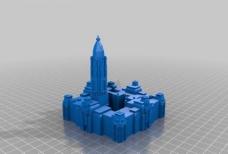 philadelphia city hall (fixed stl)