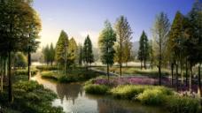 景观效果图图片