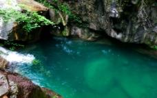 云臺山潭瀑峽圖片