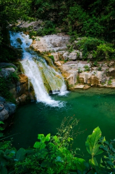云台山潭瀑峡图片