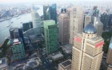 上海 俯瞰图片