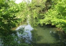 理坑 溪水图片
