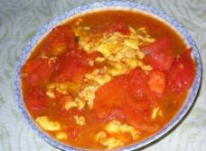 鸡蛋炒西红柿图片