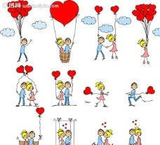 心形愛情設計圖片