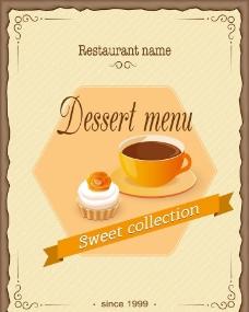 咖啡蛋糕图片