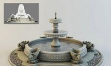 带动画的喷泉图片