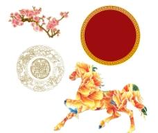 馬年 素材 古典圖片