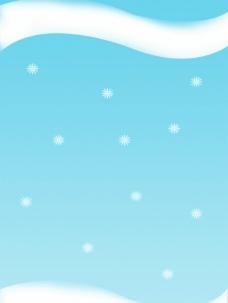 冬日海报模板图片