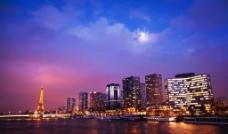 城市夜景 城市灯光图片