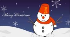 圣诞雪人图片