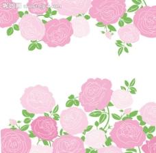 矢量玫瑰花图片