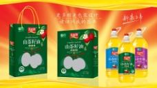 山茶籽油包装图片