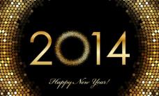 2014年新年背景图片