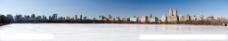 城市冬景图片