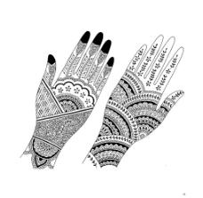 印度花纹图片