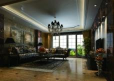 豪华客厅图片