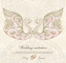 婚礼邀请卡图片
