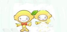 婚礼柠檬娃娃图片