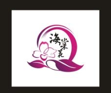 海棠花标志图片