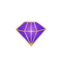 紫色 钻石图片