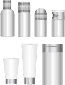 乳液化妝品空白瓶子