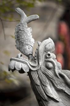 鱼龙戏珠图片