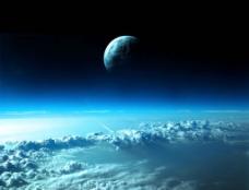云海夜色图片