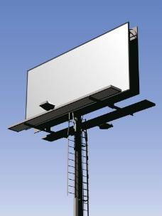 户外广告牌图片