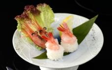 甜虾寿司图片