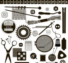 裁缝工作用品图片