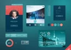 UI Kit设计图片