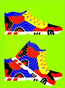 球鞋設計圖片