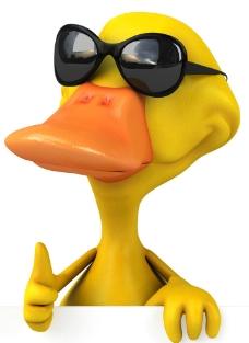 3d黄鸭图片