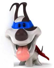 3d宠物狗图片