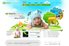 国外宝宝网站页面图片